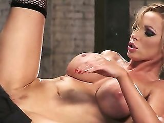 Keiran Lee And Nikki Benz Are Biz Competitors And This Is Their Main Battle