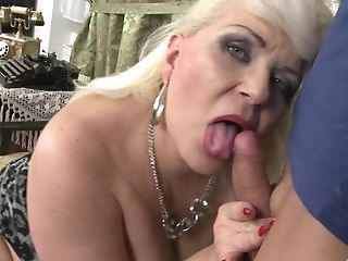 Bbw Blonde Matures Preps Her Cunt For The Best Fuck-fest With A Dude