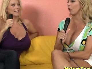 Huge-chested Cougars Jerking In Ffm