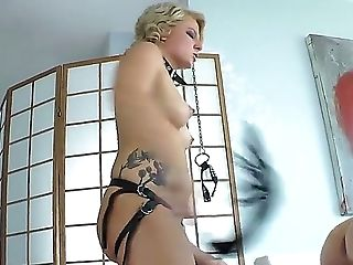 Wild Blonde Mega-bitch Abnormal Kade Likes Predominant And Having Masculine Obeing Orders In Her Dirty Female Dominance