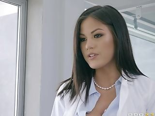 Asian Mummy Assistant Kendra Spade Gets Spunk On Face At An Office