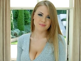 Big-boobed Latvian Beauty Viola Baileys And Her Horny Interview