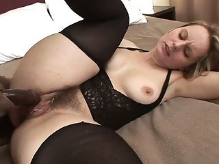 Lusty Big Titted And A Bit Chubby Cheating Housewife Takes Big Black Cock In Her Twat