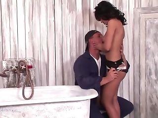Finest Porn Industry Star Angelika Black In Horny Oral Job, Facial Cumshot Adult Movie