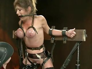 Extreme Immobilization! Felony Is At The Grace Of Two Fierce Doms.