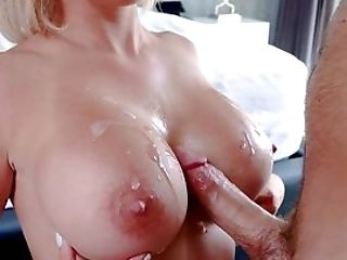 Sara St Clair Concludes A Supreme Hard Fuck With Sperm On Her Big Tits