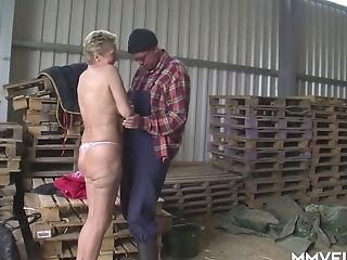 Matures Old Mega-bitch Angelica Gets Arched Over And Fucked From Behind