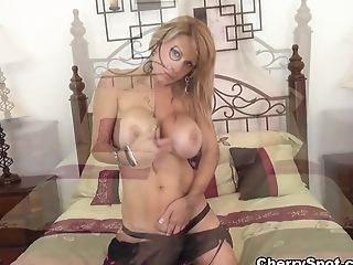 Amazing Adult Movie Star Alyssa Lynn In Horny Big Tits, Getting Off Pornography Movie